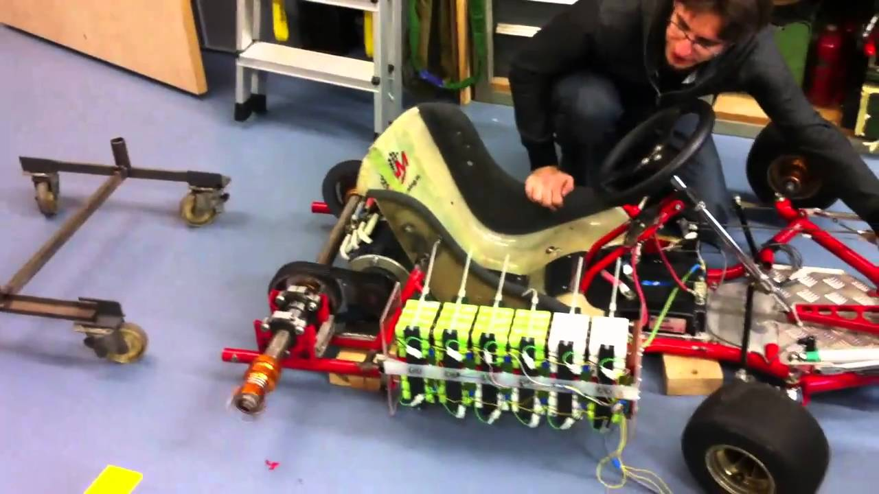 Dewalt A123 Battery Pack Electric Go Kart Youtube