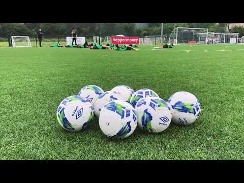 The Hoops return to football training session at Roadstone 16-06-20