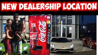 New vending machine location #14 dealership !!!