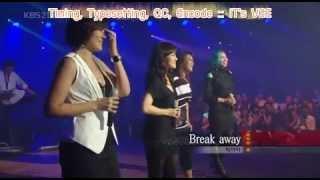 No.11 : Break Away - Big Mama [Karaoke Thai Sub & Lyrics]