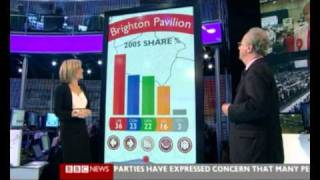 BBC General Elections 2010 Touch Screen