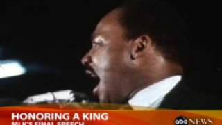 Martin Luther King`s Final Speech Remembered