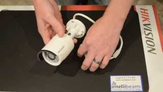 Hikvision DS-2CD2032-I 3MP IR Mini Bullet POE Camera unboxing by Intellibeam.com