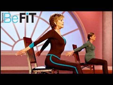 Yoga Stretching & Mobility Workout: PM- Jane Fonda
