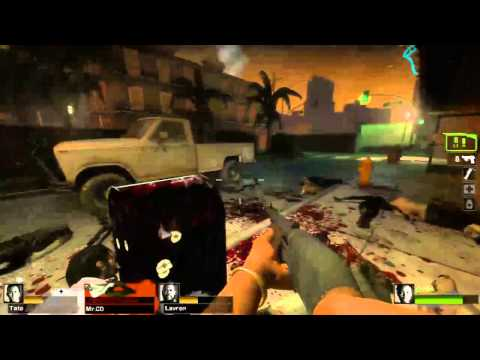 Left 4 Dead 2 Custom Map review - Urban Flight
