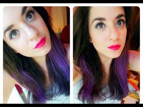 Πώς να βάψετε  τα μαλλιά σας  πολύχρωμα!!