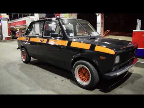 Belgrade night ride - Zastava/Fiat 128