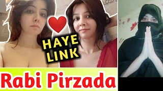 RABI PIRZADA | LEAKED VIDEO LINK | REALITY OF RABI PIRZADA ? | RABI PIRZADA VIRAL VIDEO LINK 😡