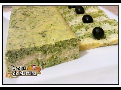 Pastel de brócoli y coliflor   Recetas de cocina   Cocina de Martina