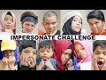 Impersonate Challenge (ROASTING Sesama) | Gen Halilintar Impersonate Each other