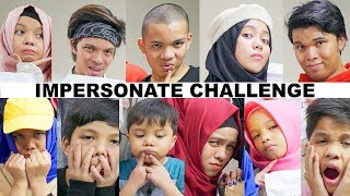 Download Lagu Impersonate Challenge (ROASTING Sesama) | Gen Halilintar Impersonate Each other Gratis STAFABAND