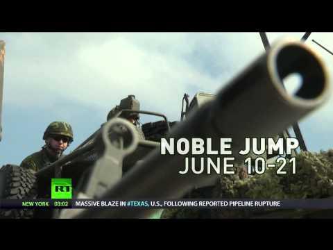 Tony Robinson at RT International on Eastern Europe hosting NATO's heavy weapons