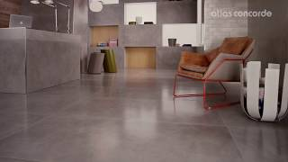 Reception Hall | Resin&Concrete look | Atlas Concorde | Dwell