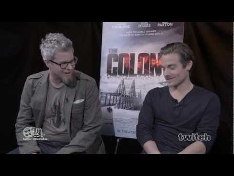 THE COLONY Interview by Jason Gorber with Kevin Zegers and Jeff Renfroe