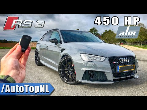 450HP AUDI RS3 8V | REVIEW POV on ROAD & AUTOBAHN (NO SPEED LIMIT!) by AutoTopNL