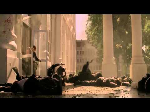 Olympus Has Fallen - 2 Machine Gun Scene video