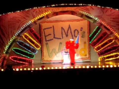 Elmo Live - When I Grow Up (in NJ)
