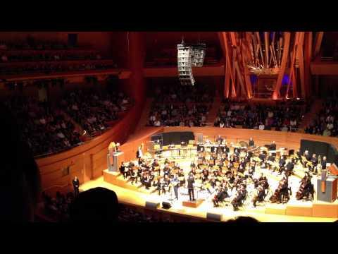 Trey Anastasio with the LA Philharmonic - Divided Sky (partial)