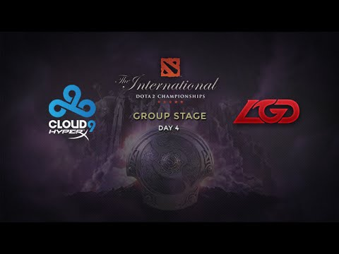LGD -vs- Cloud9, The International 4, Group Stage, Day 4