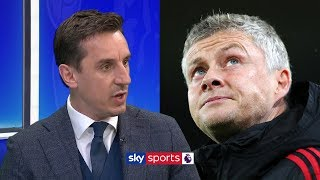quotOle is just picking players he trustsquot  Gary Neville on Man United39s line-up against Man City