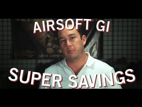 Airsoft GI - Weekend Coupons and Saving Deals (What GI Productions is all about)