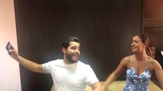 خاص بالصور والفيديو- أصدقاء ناصيف زيتون يفاجئونه بعيد ميلاده