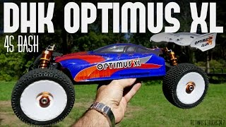 DHK OPTIMUS XL 1/8 Buggy - BIG Bash Session