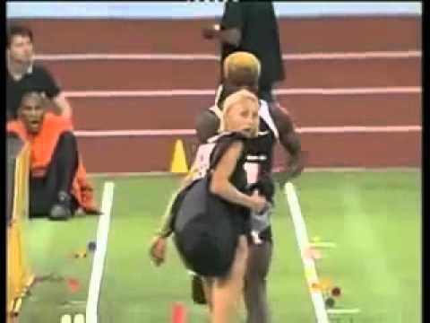 تصادم بين لاعب و لاعبه في الأولمبياد