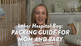 Labor Hospital Bag: Packing Guide for Mom and Baby | CloudMom
