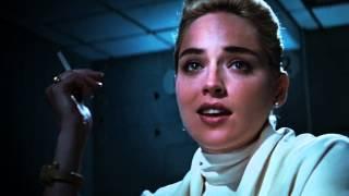 Delphine Interrogates Sharon Stone OB  BASIC INSTI