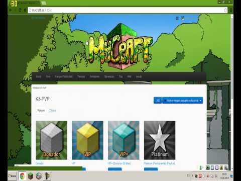 Reviews Servidores MineCraft: #1 MyCraft (Parte 2)(1.7.4)(No Premium)(Sin Hamachi)