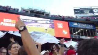 Under The TIFO USAvPanama