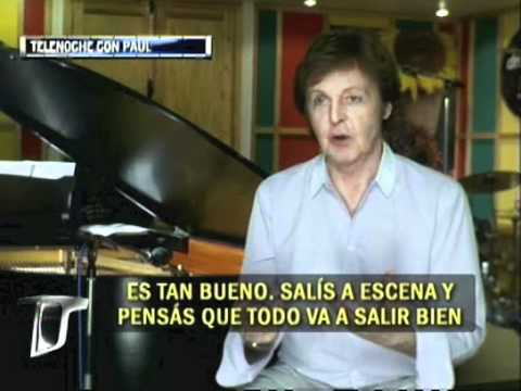 Paul McCartney  - Interview / Tv Argentina [Parte 1]