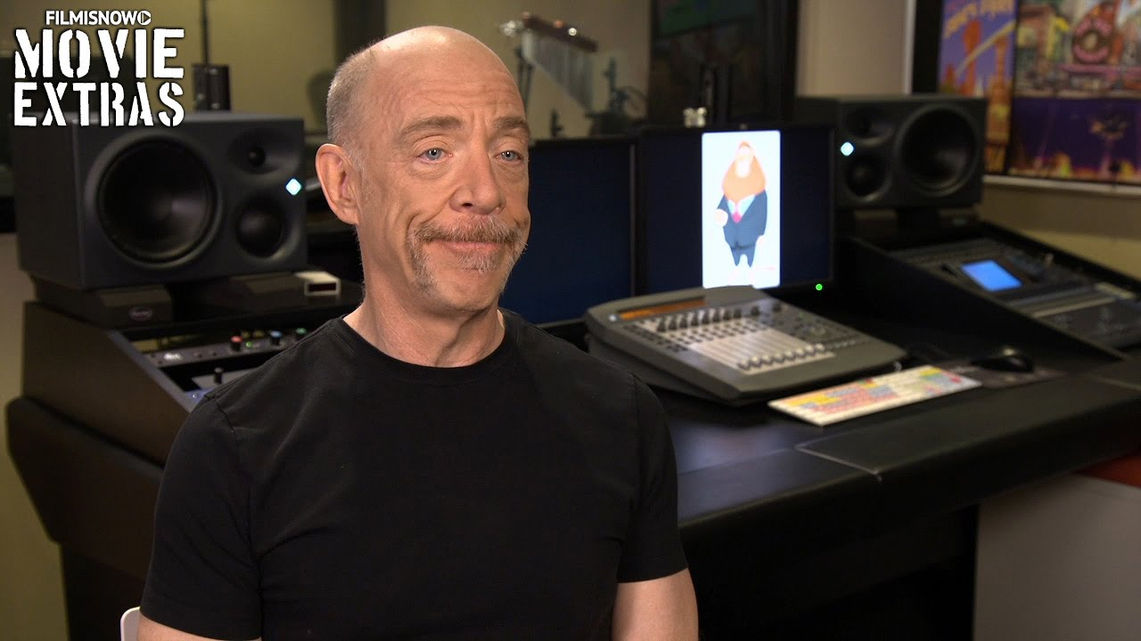 Zootopia (2016) Behind the Scenes Movie Interview - J.K. Simmons
