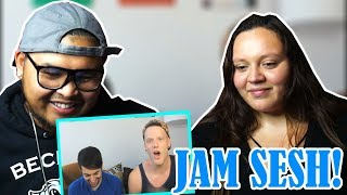 Download Lagu 【Pentatonix】+ Random jamming/Singing on the fly | COUPLE'S REACTION | TOO FUNNY! Gratis STAFABAND