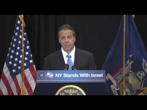 NY Governor Sign Executive Order Against BDS Movement