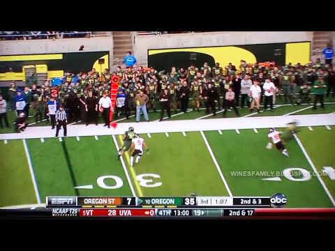 The 2011 Civil War - OSU vs Oregon 11/26/2011