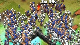 Clash of clans: Full Witch clear Hall 10