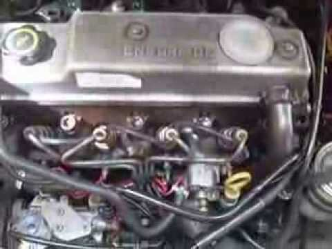 how to change a ford courier turbo