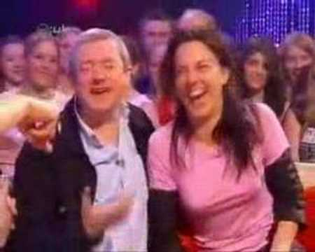 Melanie C and Louis Walsh on Cd:UK Video