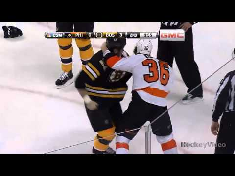 Zac Rinaldo vs Shawn Thornton fight . Mar 9, 2013