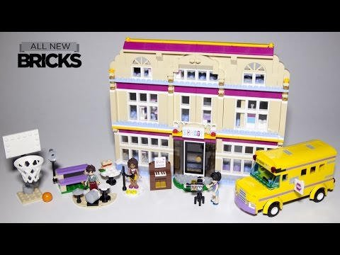 Lego Friends 41134 Heartlake Performance School Speed Build