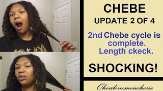 👍 CHEBE RESULTS # 2 👍 Authentic Chebe Hair Growth, 2nd Use - AMAZING RESULTS!!