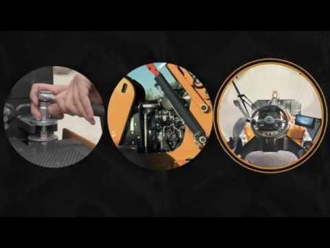 Close up to Case - 2nd Skid Steer Loader clip