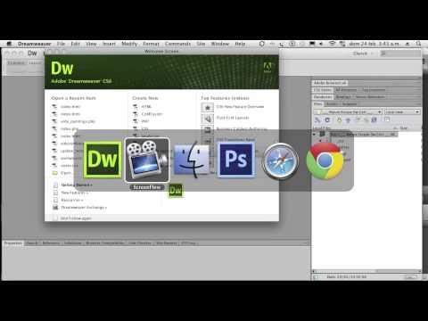 Dreamweaver CS6 Certificación ACA 01 Intro Videotutoriales