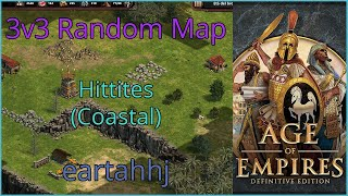 Age of Empires: Definitive Edition - 3v3 RM Hittites Coastal - eartahhj - 27/06/2019