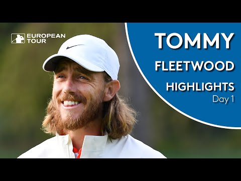 Tommy Fleetwood Highlights | Round 1 | 2019 Omega European Masters
