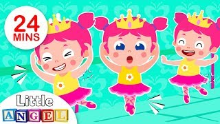 I Want To Be A Ballerina, Scrub a Dub Dub, London Bridge & more Fun Kids Songs by Little Angel