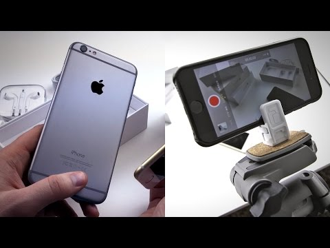 iPhone 6 Plus Unboxing (Shot With iPhone 6)