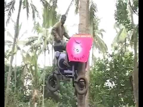 Coconut Tree Climbing Machine, Mfd. at Kanimangalam, Thrissur